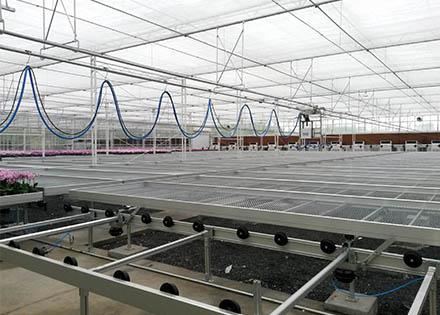 自动化种植床物流系统(北京华农) 照片