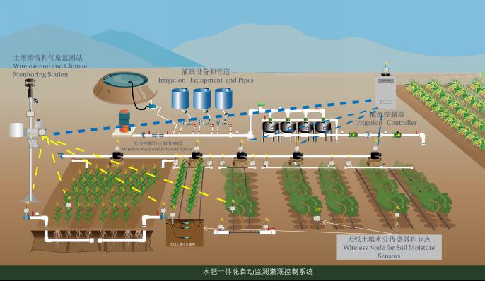 无线自动灌溉系统 照片