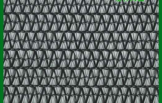 外用扁丝黑色针织遮阳网(格林网业) 照片